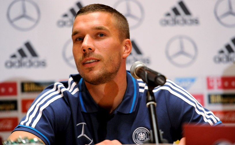 Lukas Podolski /Bartłomiej Zborowski /PAP