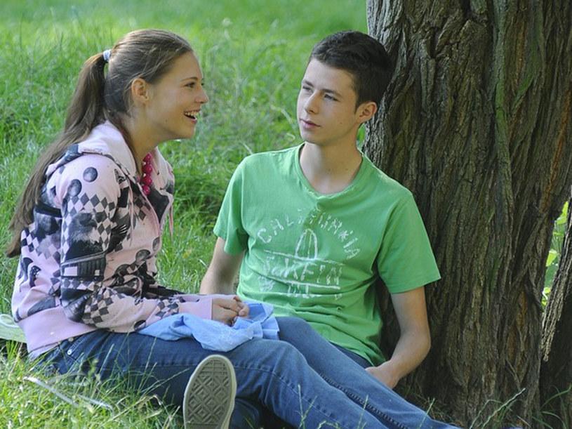 Łukasz (Adrian Żuchewicz) i Gabi (Gabriela Pietrucha). /AKPA