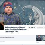 Łukasz Berezak - wolontariusz z WOŚP. W sieci pojawił się jego oficjalny fanpage