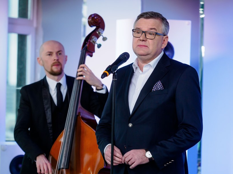 Łukasz Borowiecki i Artur Andrus /Tomasz Urbanek /East News