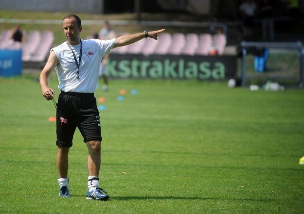 Łukasz Bortnik. Fot. Maciej Gillert. /www.korona-kielce.pl