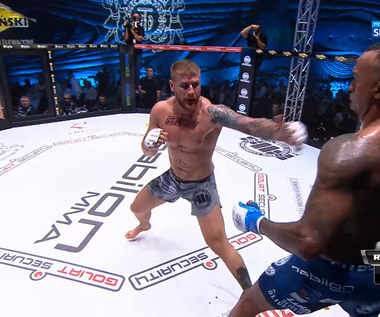 Łukasz Brzeski - Ednaldo Oliveira - skrót walki (26.10.2019). WIDEO (Polsat Sport)