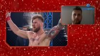 Łukasz Brzeski po podpisaniu kontraktu z UFC. Wideo (POLSAT SPORT)