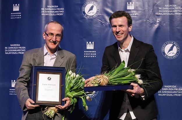 Łukasz Cieśla został laureatem Nagrody im. Dariusza Fikusa /fot. Paweł Supernak /PAP