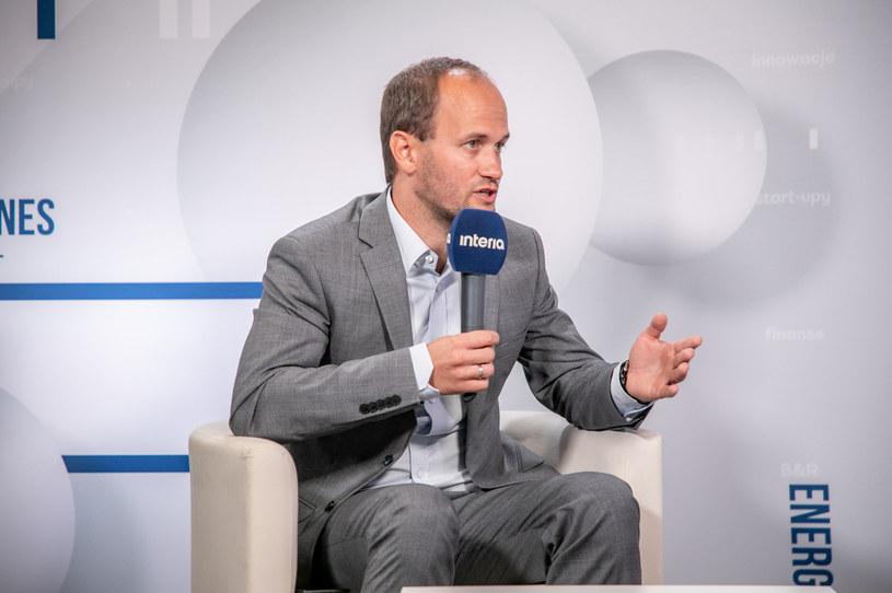 Łukasz Czernicki, główny ekonomista Ministerstwa Finansów /INTERIA.TV /INTERIA.PL