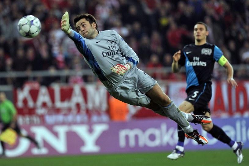 Łukasz Fabiański, bramkarz Arsenalu /AFP