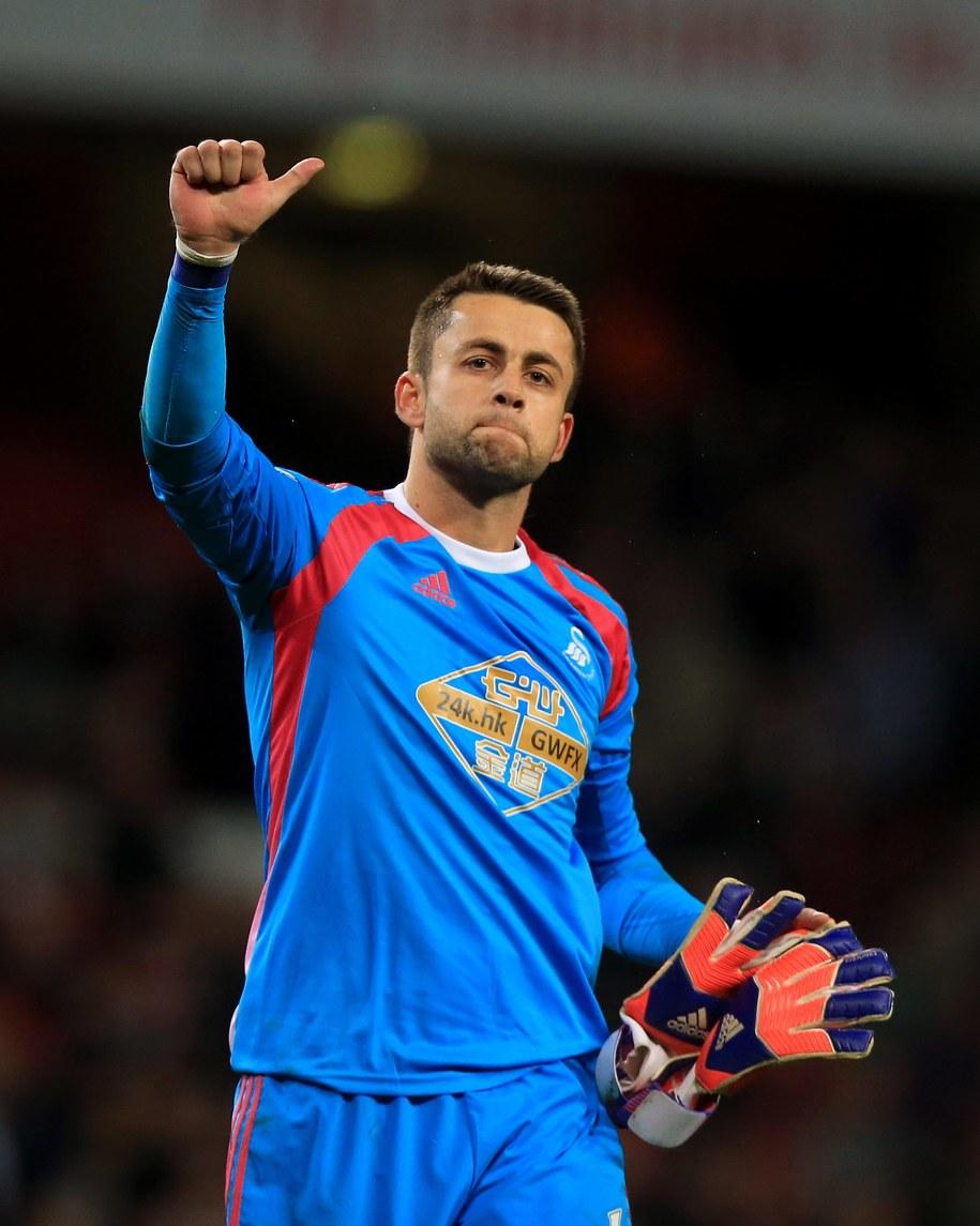 Łukasz Fabiański, Swansea City /John Walton/PA /PAP