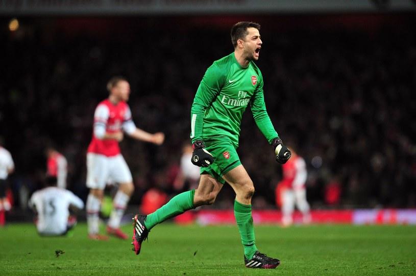 Łukasz Fabiański świetnie spisuje się w Pucharze Anglii /AFP