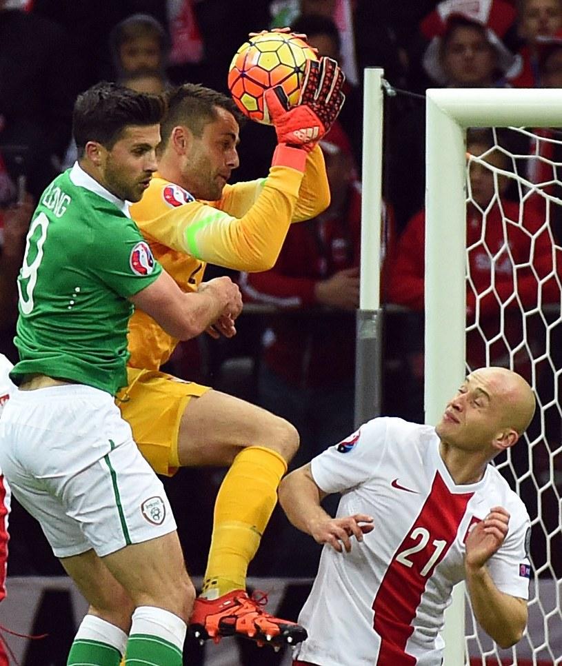 Łukasz Fabiański wywalczył miano nr. 1 w bramce reprezentacji Polski /AFP