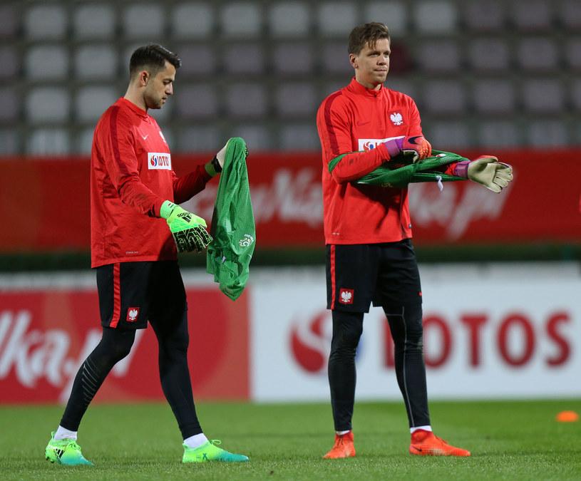 Łukasz Fabiański (z lewej) i Wojciech Szczęsny /Łukasz Grochala /Newspix