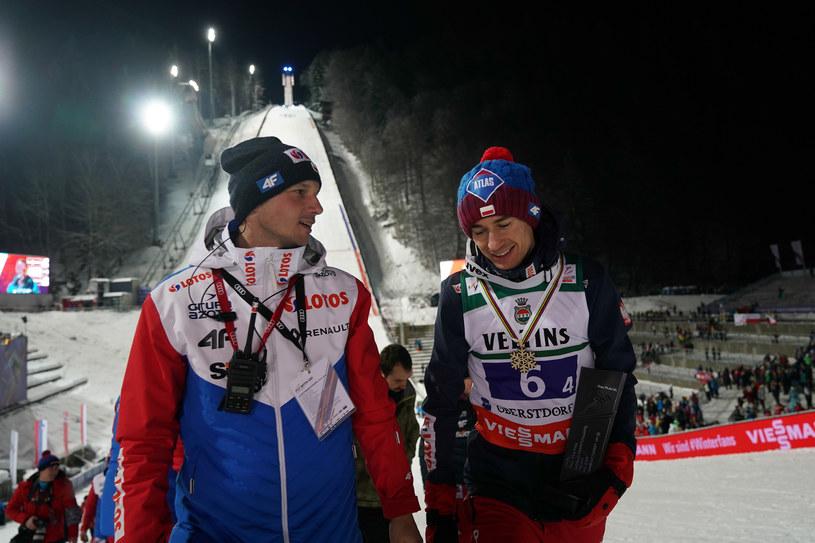 Łukasz Gębala (z lewej) /Tomasz Markowski /Newspix
