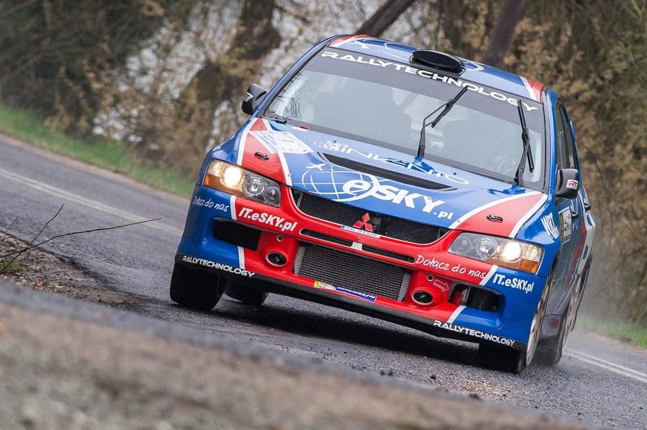 Łukasz Habaj (Ford Fiesta R5) wygrał odcinek testowy przed 60. Rajdem Wisły (Zdj. ilustracyjne) /Maciej Kulczyński /PAP/EPA