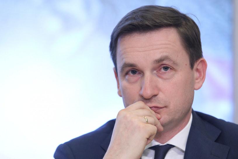 Łukasz Hardt, prof. Uniwersytetu Warszawskiego, członek RPP /Tomasz Jastrzębowski /Reporter