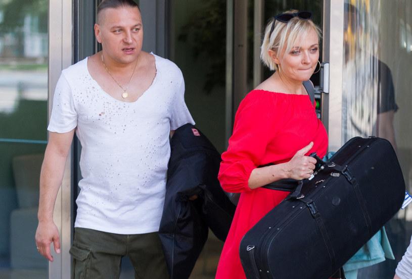 Łukasz i Edyta Golcowie /Artur Zawadzki/REPORTER /East News