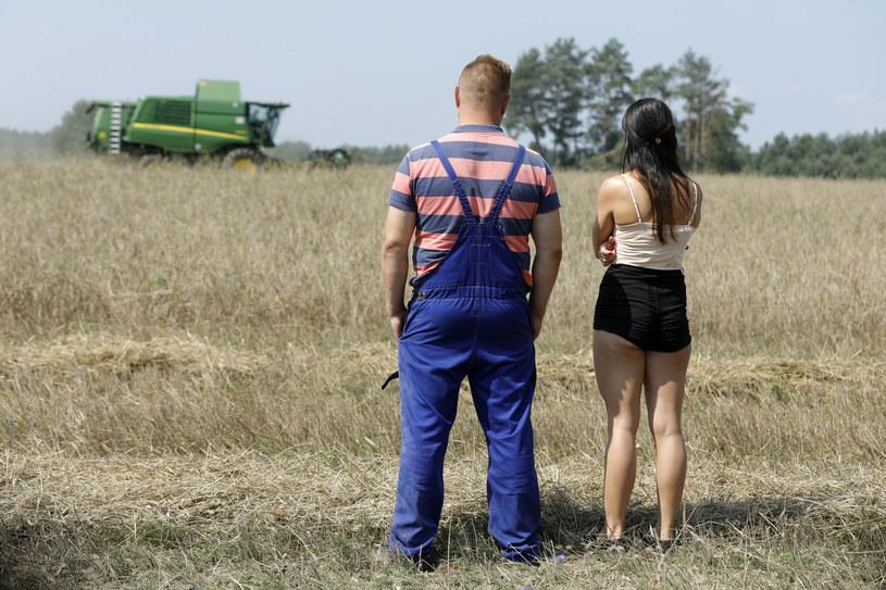 Łukasz i Paulina /Gałązka /AKPA