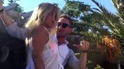 Łukasz Jakóbiak i Joanna Przetakiewicz zatańczyli na stole w klubie na Mykonos