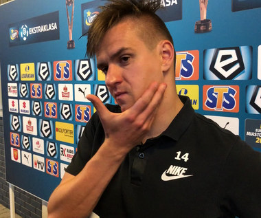 Łukasz Janoszka po meczu z Koroną Kielce (2-0). Wideo