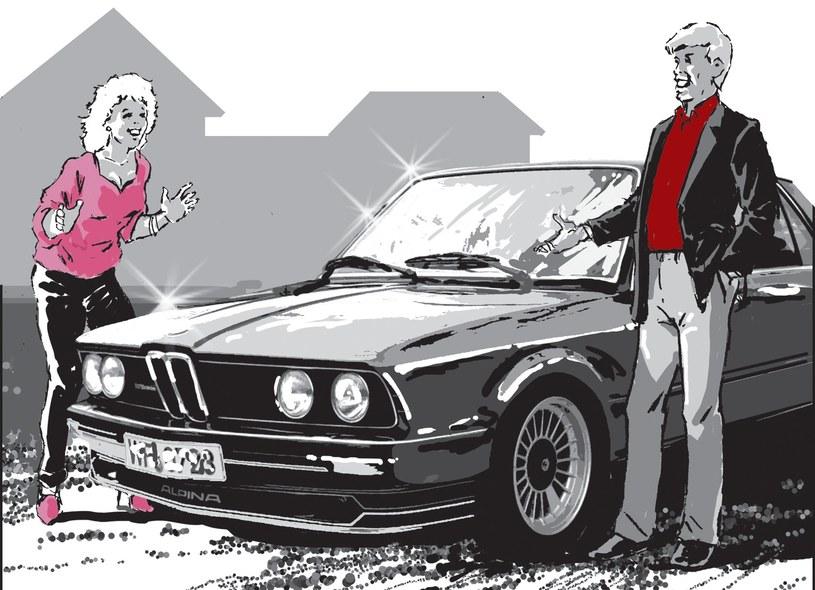 Łukasz jeździł BMW i robił wrażenie na kobietach... /Andrzej Fonfara /Śledztwo
