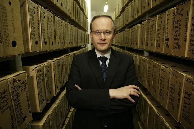 Łukasz Kamiński, szef IPN /Stefan Maszewski /Reporter