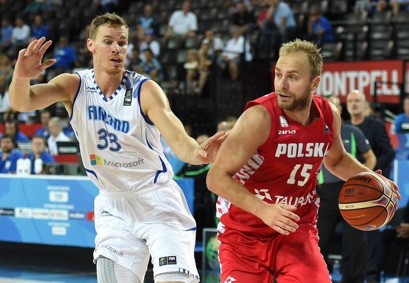 Łukasz Koszarek pomógł kadrze w awansie na MŚ /AFP