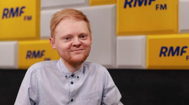 Łukasz Krasoń, doradca Szymona Hołowni ds. osób z niepełnosprawnością /Karolina Bereza /RMF FM