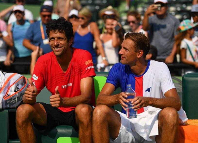 Łukasz Kubot i Brazylijczyk Marcelo Melo /AFP
