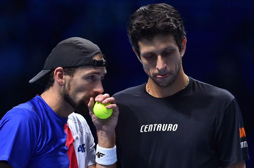 Łukasz Kubot i Marcelo Melo /AFP