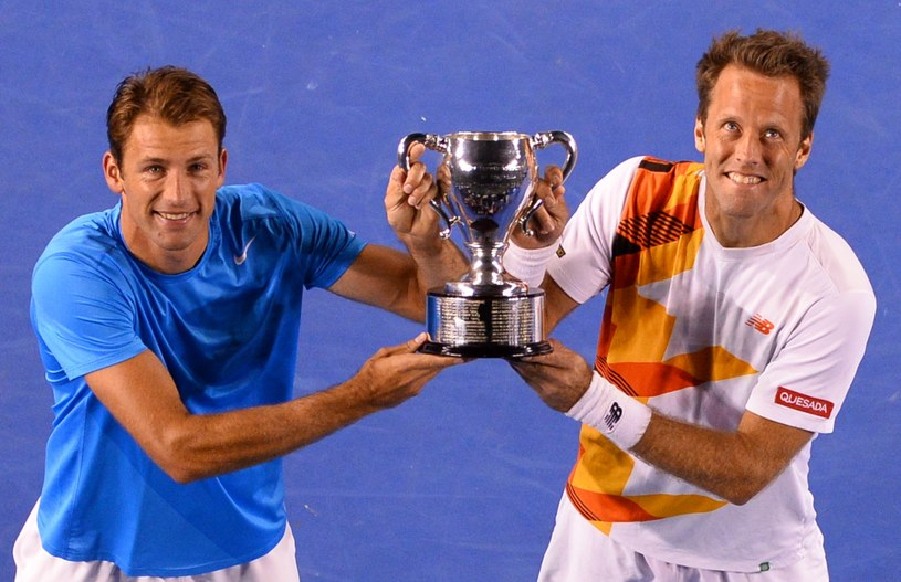Łukasz Kubot i Robert Lindstedt triumfowali w Australian Open /AFP