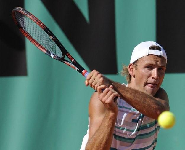 Łukasz Kubot, najlepszy obecnie polski tenisista /AFP
