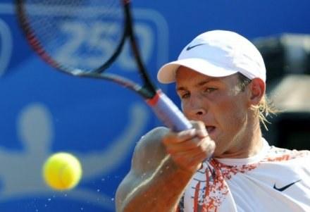 Łukasz Kubot, najlepszy polski tenisista. /AFP