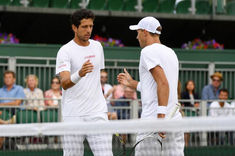Łukasz Kubot (P) i Marcelo Melo /David Ramos /Getty Images