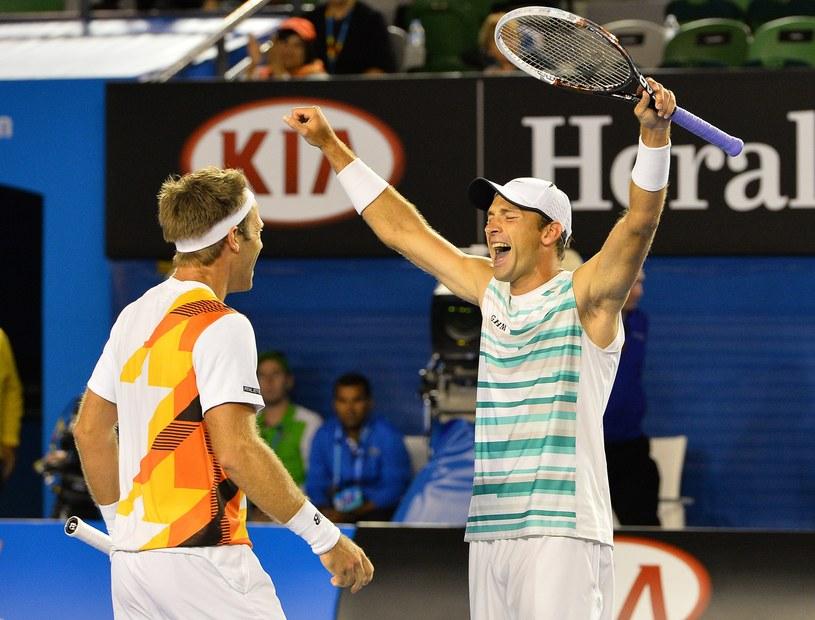 Łukasz Kubot podczas Australian Open /AFP
