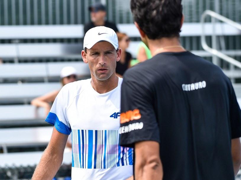 Łukasz Kubot pomoże Polakom w Pucharze Davisa /AFP