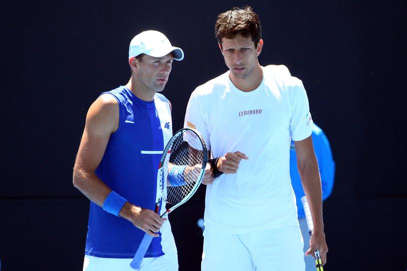 Łukasz Kubot (z lewej) i Marcelo Melo /Michael Dodge /Getty Images