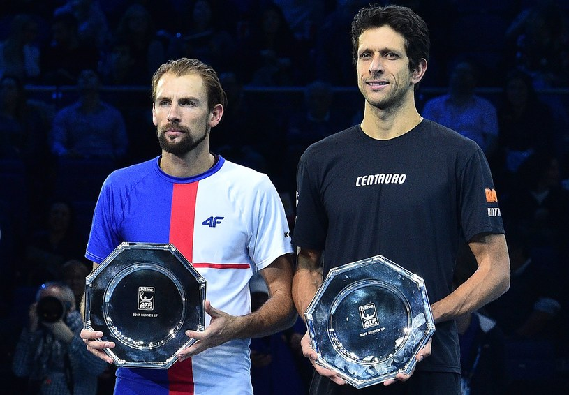 Łukasz Kubot (z lewej) i Marcelo Melo /AFP