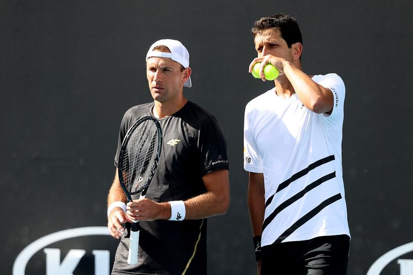 Łukasz Kubot (z lewej) i Marcelo Melo /Getty Images