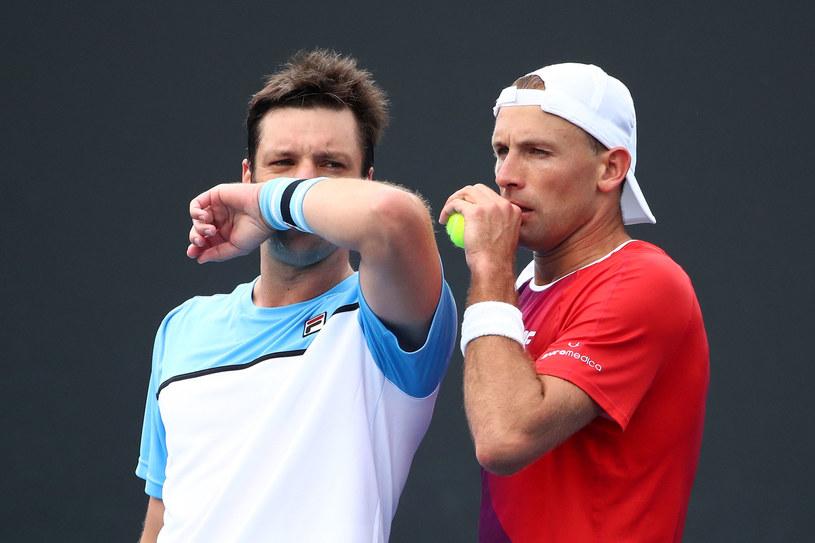 Łukasz Kubot (z prawej) i Horacio Zeballos /Getty Images