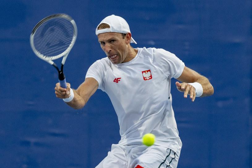 Łukasz Kubot /Iwanczuk/Sport/REPORTER /East News