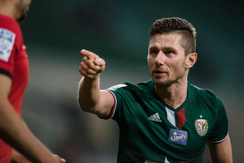 Łukasz Madej wygraża Hebertowi /East News /