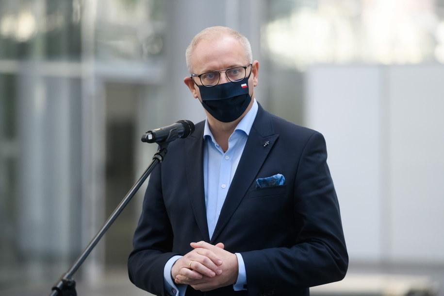 Łukasz Mikołajczyk, wojewoda wielkopolski /Jakub Kaczmarczyk /PAP
