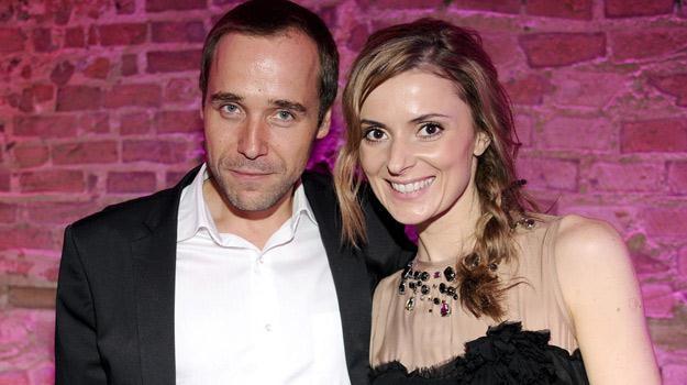 Łukasz Nowicki i Halina Mlynkova tworzą od lat zgodną parę /AKPA