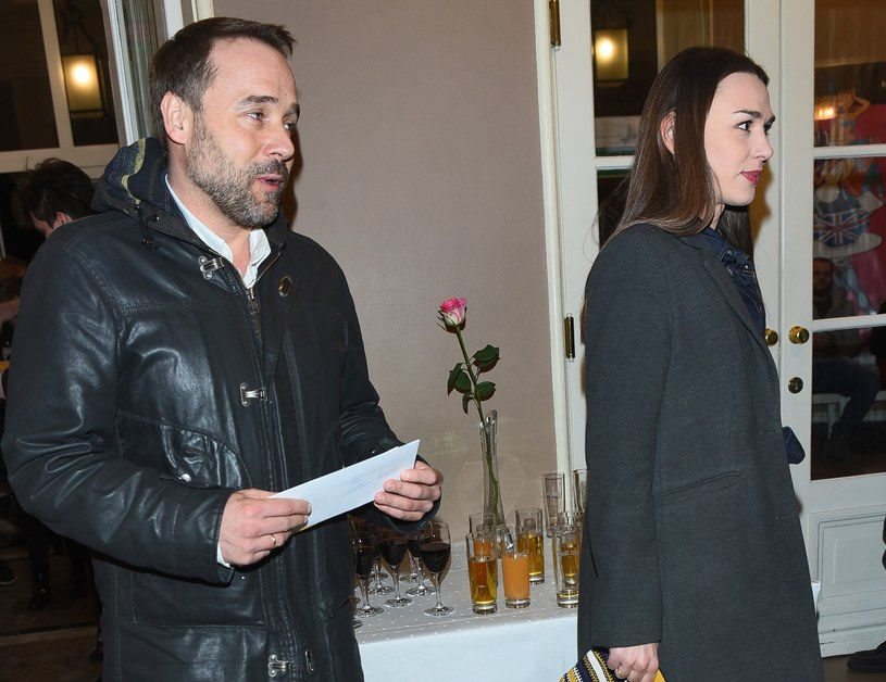 Łukasz Nowicki i Olga Paszkowska /Andras Szilagyi /MWMedia
