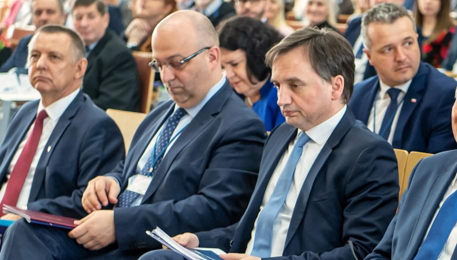 Łukasz Piebiak i Zbigniew Ziobro /\Tytus Żmijewski /PAP