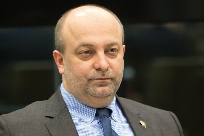 Łukasz Piebiak /Fot Tomasz Jastrzebowski /Reporter