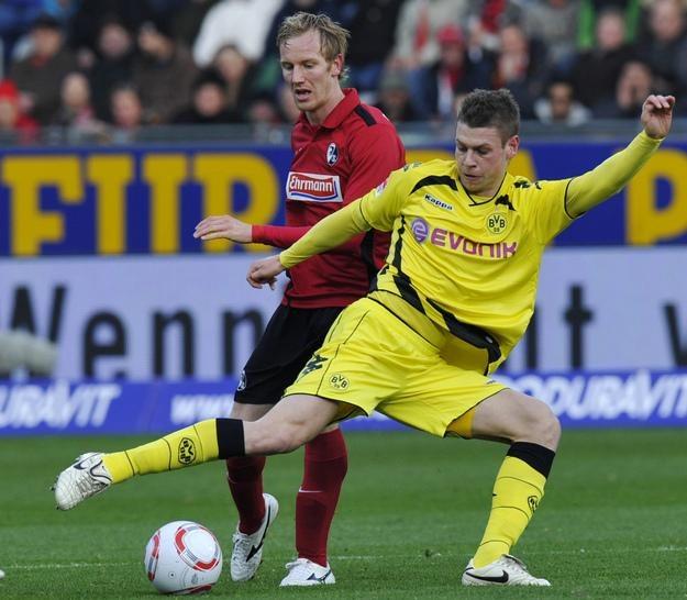 Łukasz Piszczek, obrońca lidera Bundesligi Borussii Dortmund /AFP