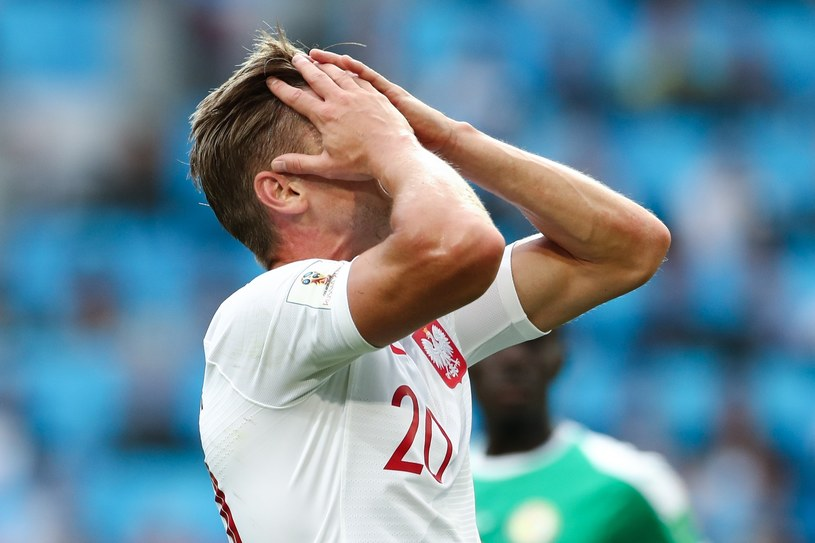 Łukasz Piszczek podczas meczu z Senegalem /fot. Andrzej Iwanczuk /Reporter
