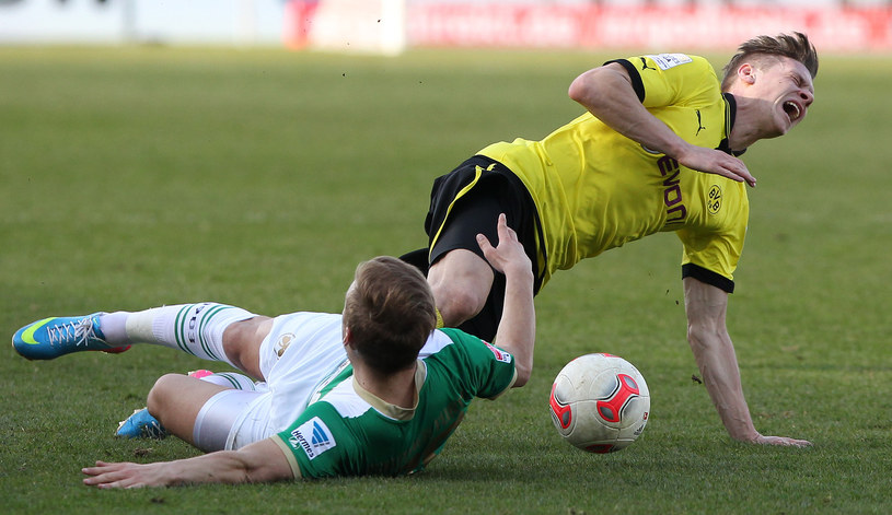 Łukasz Piszczek w barwach Borussii Dortmund /AFP