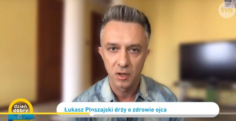 """Łukasz Płoszajski w """"Dzień Dobry TVN"""" /TVN /TVN"""