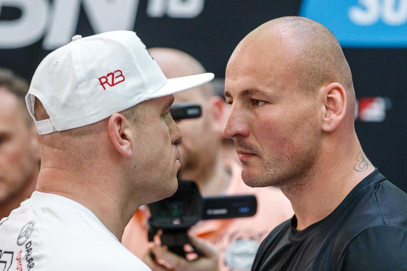 Łukasz Różański (z lewej) i Artur Szpilka / MACIEJ GOCLON / FOTONEWS / NEWSPIX.PL /Newspix
