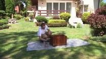 Łukasz Skop i przygotowania do przyjścia lata w ogrodzie